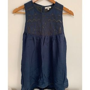 Wilfred lace/embroidered blouse